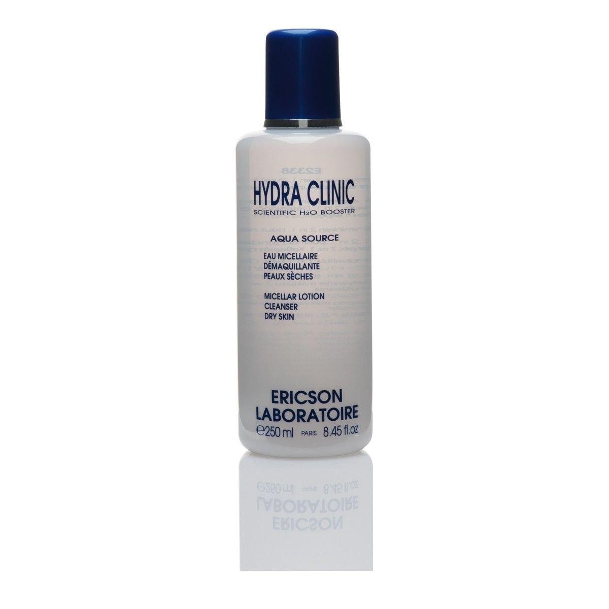 Afbeelding van Ericson Laboratoire Aqua Source Micellar Lotion Cleanser Hydra Clinic Droge huid Beauty