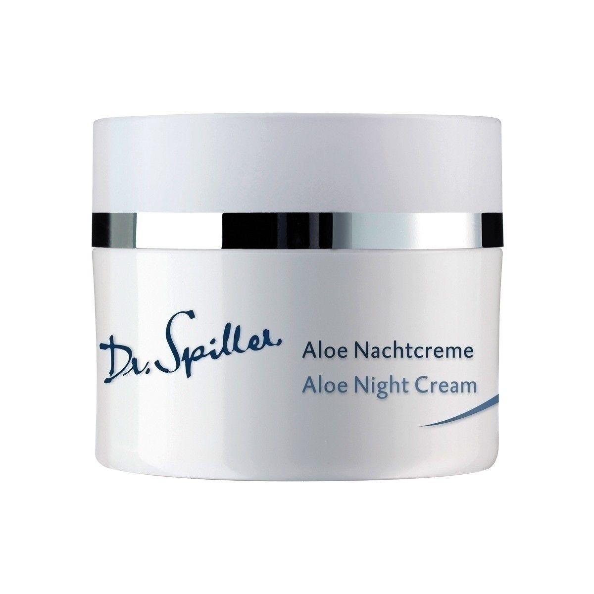 Afbeelding van Dr. Spiller Aloe Nachtcreme Base Line Basisverzorging jonge huid