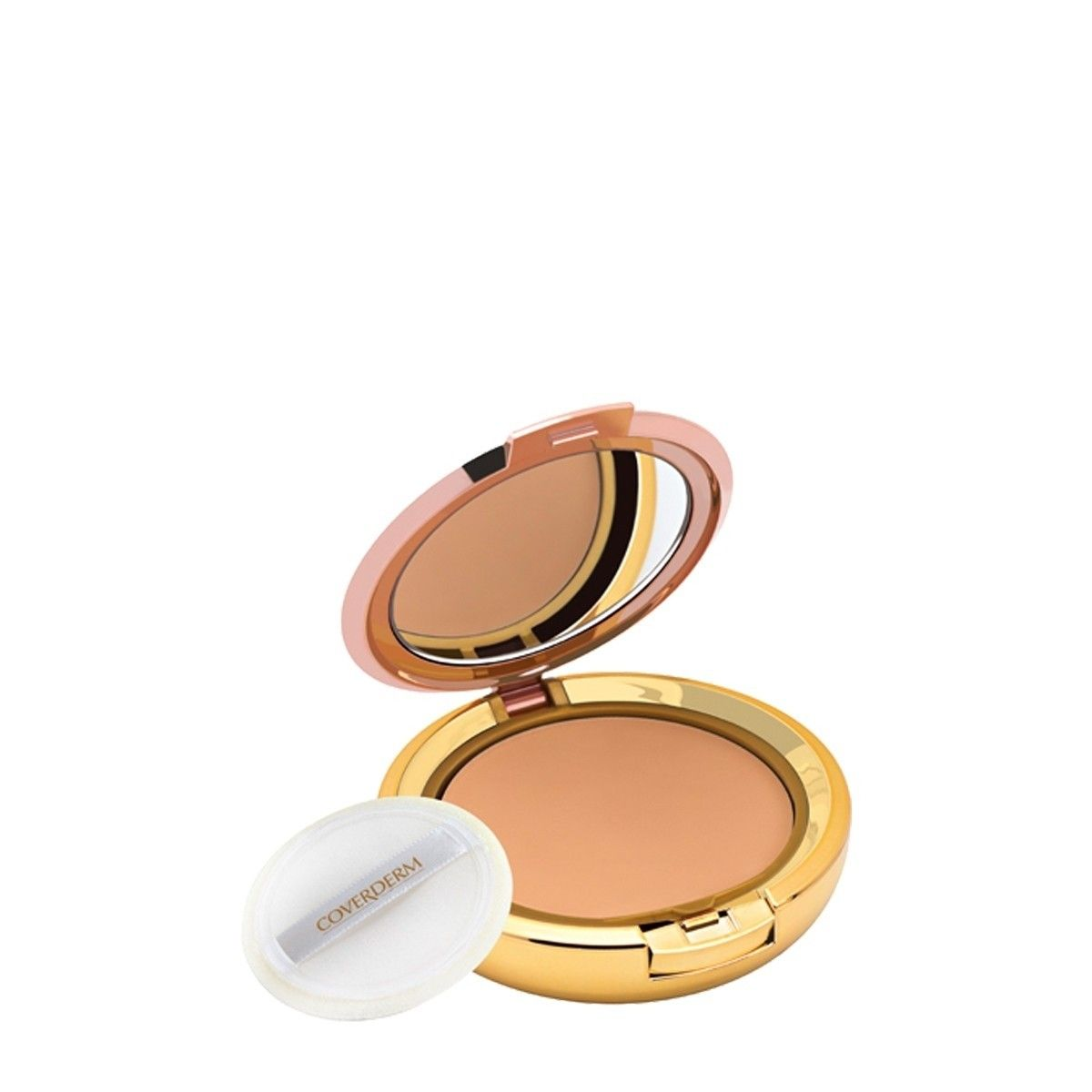 Afbeelding van Coverderm Compact Powder Color Normal 4 Poeder Make up