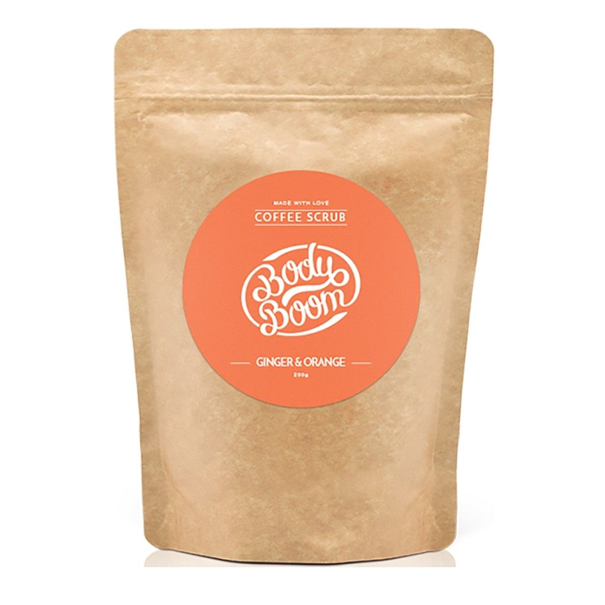 Afbeelding van Bodyboom Coffee Scrub Ginger&Orange Bodyscrub Beauty