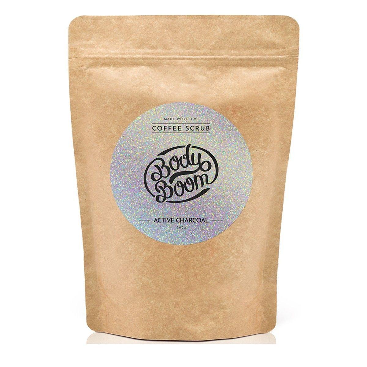 Afbeelding van Bodyboom Coffee Scrub Active Charcoal Bodyscrub Beauty