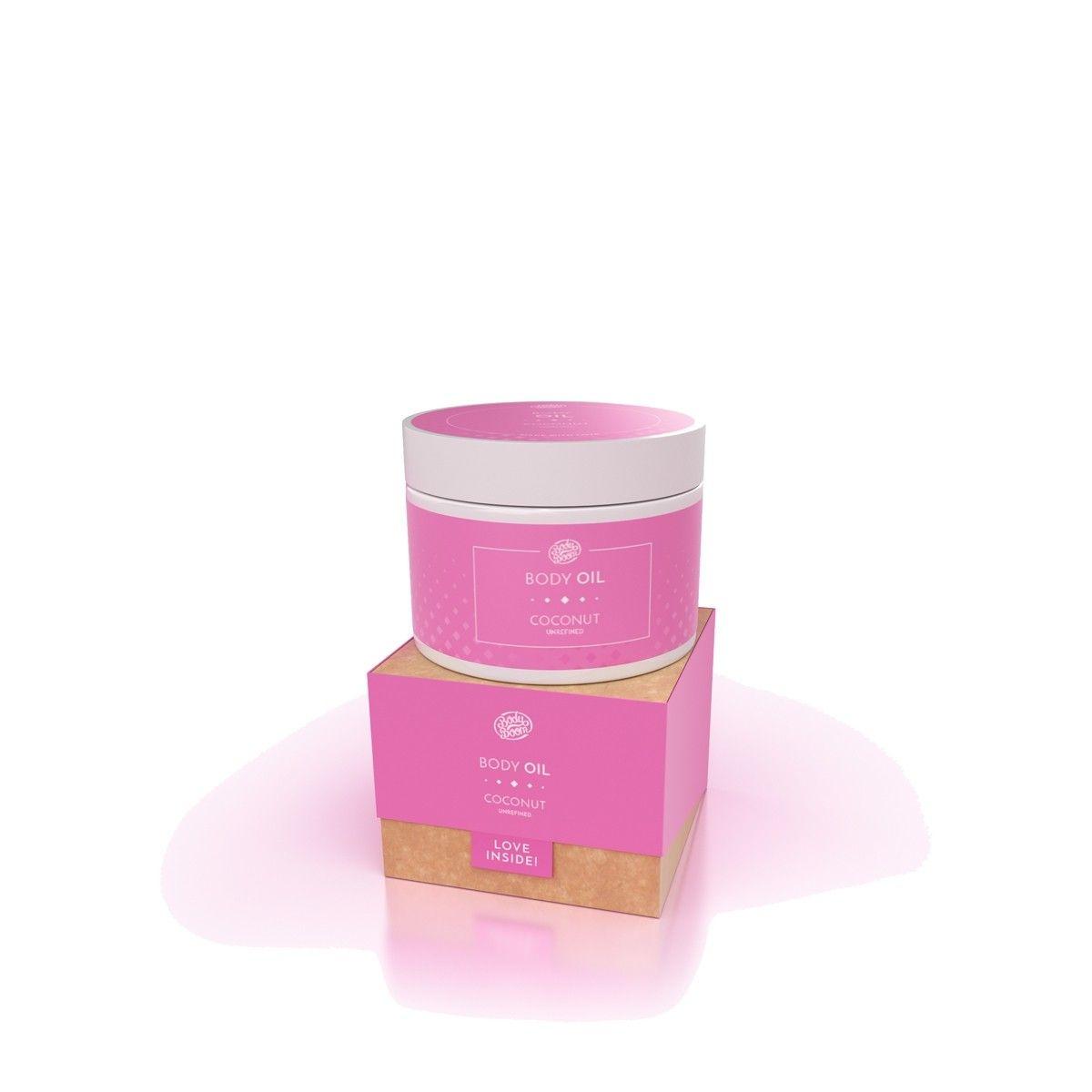 Afbeelding van Bodyboom Body Oil Coconut Bodycrème Beauty