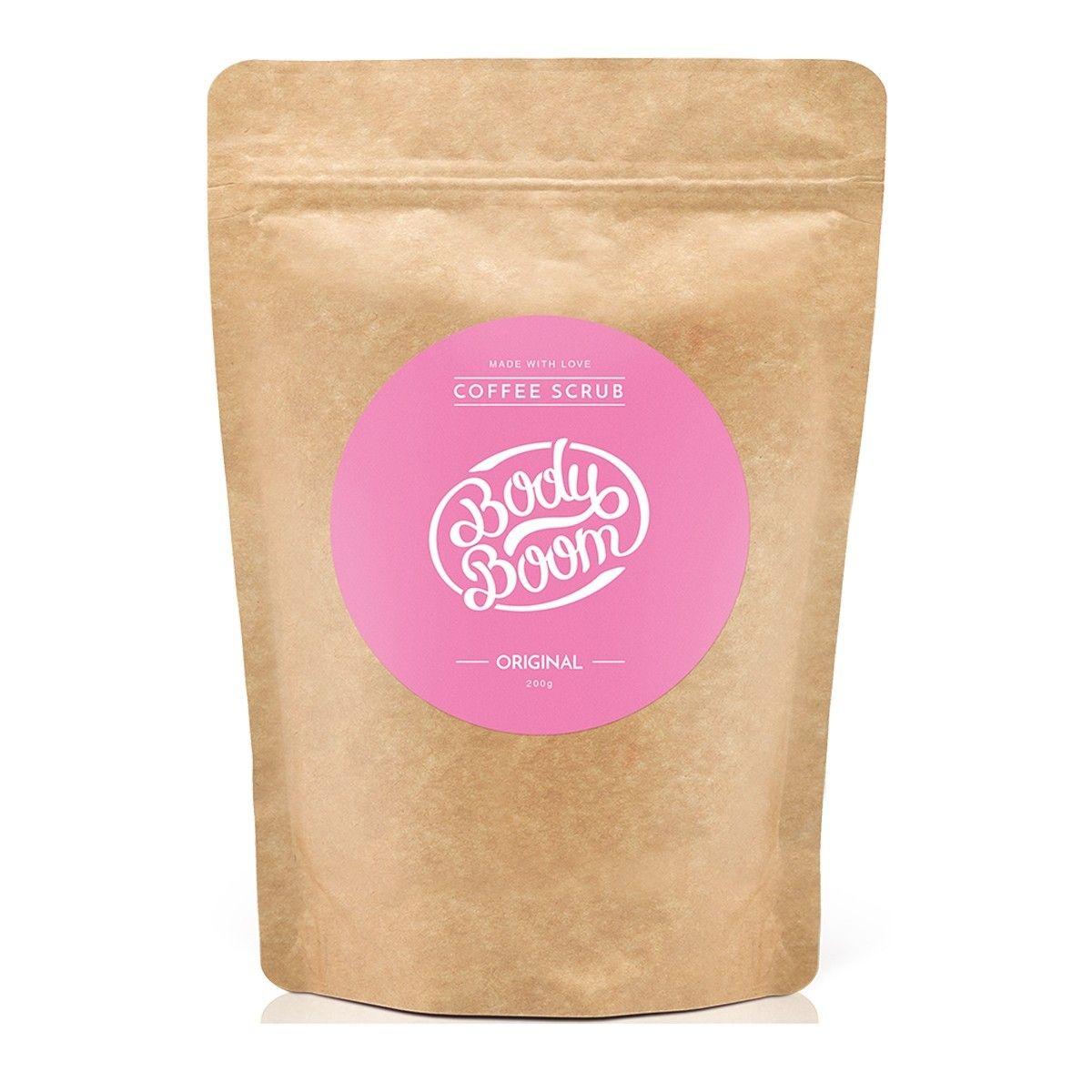 Afbeelding van Bodyboom Coffee Scrub Original/Chocolate Bodyscrub Beauty