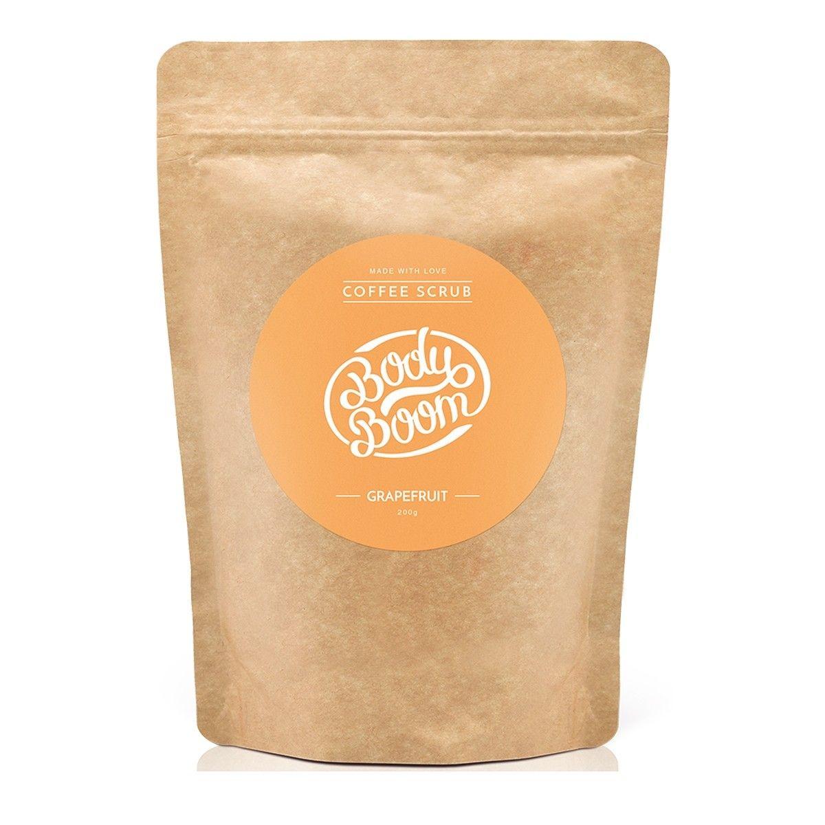 Afbeelding van Bodyboom Coffee Scrub Grapefruit Bodyscrub Beauty