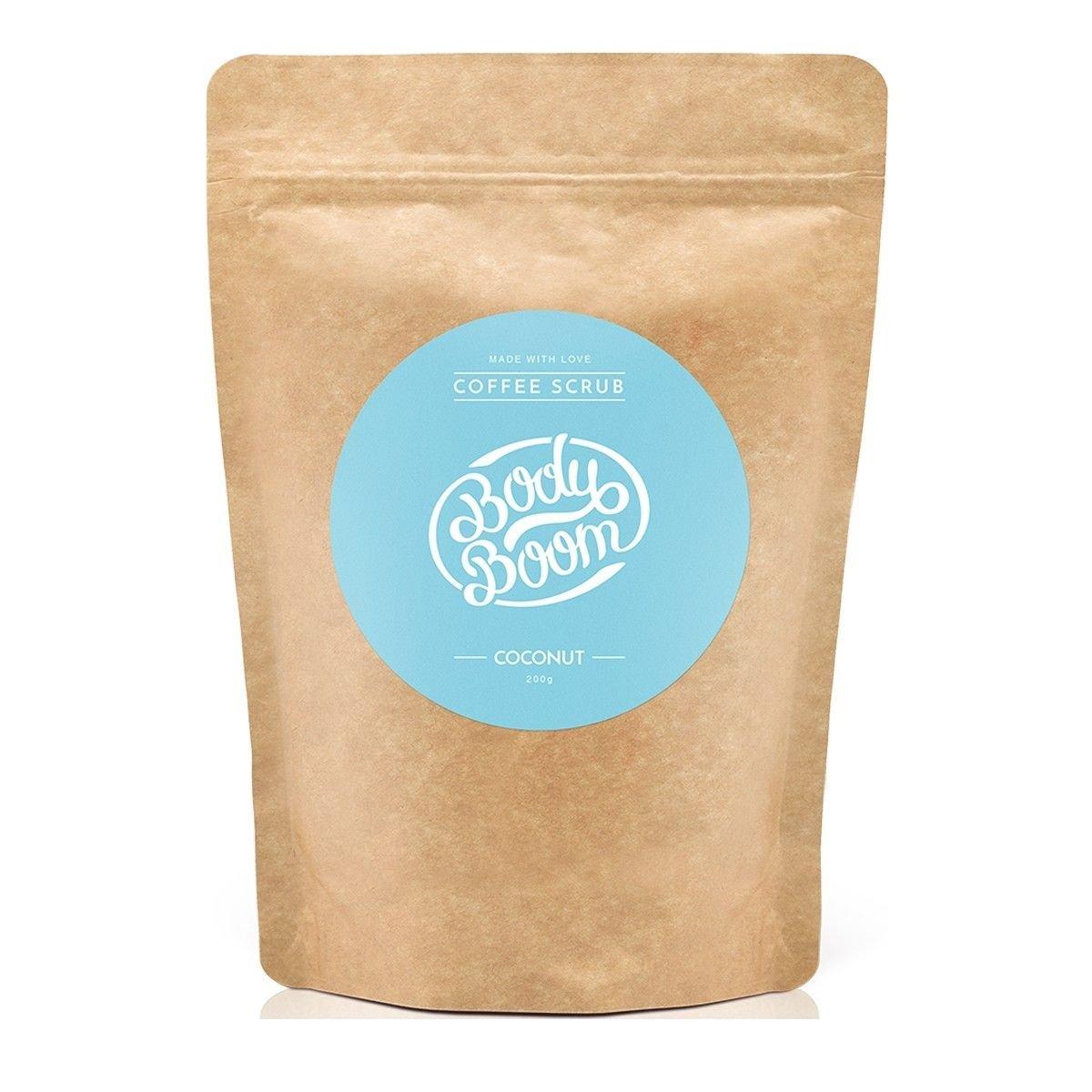 Afbeelding van Bodyboom Coffee Scrub Coconut Bodyscrub Beauty