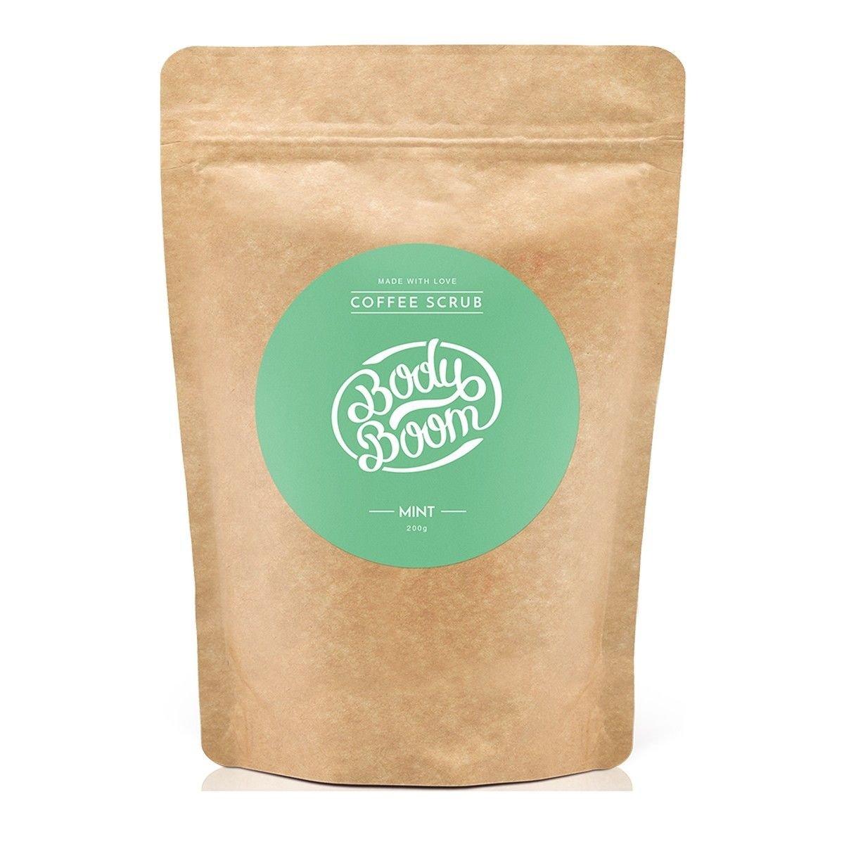 Afbeelding van Bodyboom Coffee Scrub Mint Bodyscrub Beauty