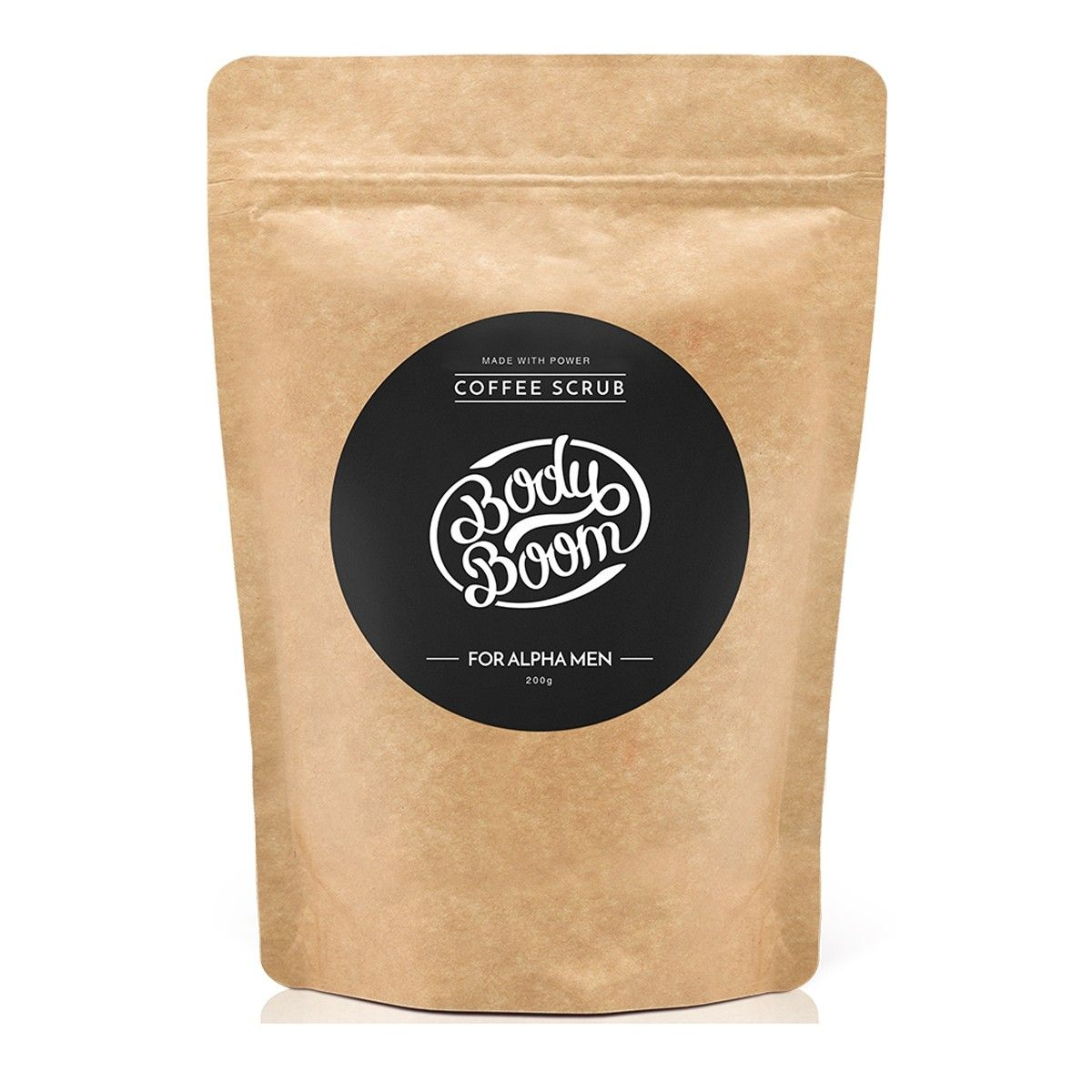 Afbeelding van Bodyboom Coffee Scrub For Aplha Men Bodyscrub Beauty