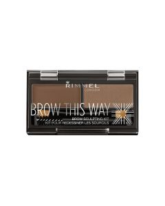 Rimmel Brow This Way Eyebrow Kit Brown This Way