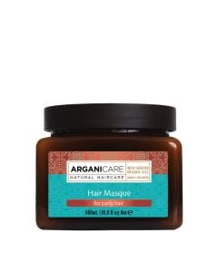 Arganicare Hair Masque For Curly Hair - Argan & Shea Butter 500 Ml