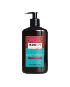 Arganicare Leave In Conditioner For Colored & Highlighted Hair - Argan & Shea Butter 400 Ml