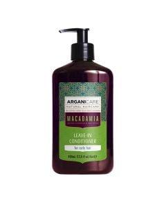 Arganicare Macadamia Leave-In Conditioner For Curly Hair - Argan & Macadamia 400 Ml