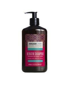Arganicare Keratin Shampoo - Argan & Keratin 400 Ml