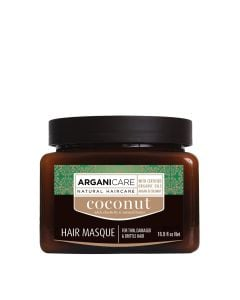 Arganicare Hair Masque For Dull, Very Dry & Frizzy Hair - Argan & Coconut 500 Ml