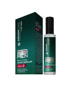 Arganicare Hair Fall Control Men Reviving Hair Serum 60 Ml - Step 2