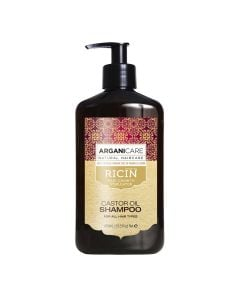 Arganicare Castor Oil Shampoo For All Hair Types - Argan & Castor 400 Ml