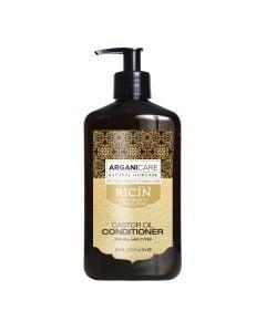 Arganicare Castor Oil Conditioner For All Hair Types - Argan & Castor 400 Ml