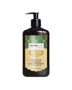 Arganicare Castor Oil Leave-In Conditioner For All Hair Types - Argan & Castor 400 Ml