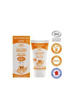 Alphanova Bio Spf 50+ Bebe Hypo Allergeen Sun Milk 50G