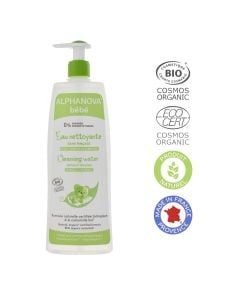 Alphanova Cleansing Water With Organic Chamomile Face Body 500Ml