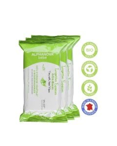 Alphanova Natural Wipes 3X72Stuks