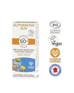 Alphanova Bio Spf 50 Allergische Gevoelige Huid - Waterproof