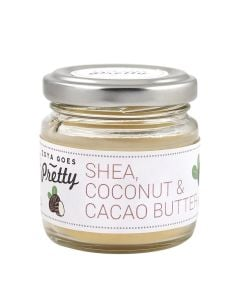 Zoya Goes Pretty Shea, Cacao & Coconut Butter Cold-Pressed & Organic 60G