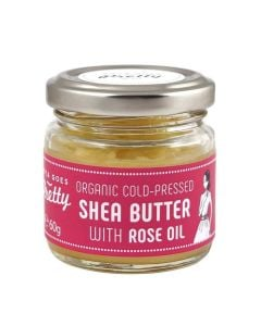 Zoya Goes Pretty Shea & Rose Butter Cold-Pressed & Organic 60G
