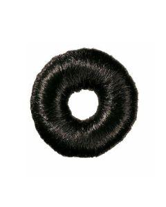 Comair Bun Padding Round, Black, 9 Cm 18 Gr
