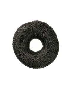 Comair Bun Padding Round, Black, 8Cm 15 Gr