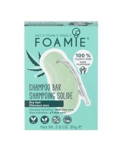 Foamie Shampoo Bar Aloe You Vera Much (For Dry Hair)