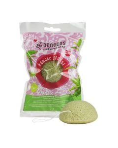 Benecos Natural Konjac Sponge - Green Tea