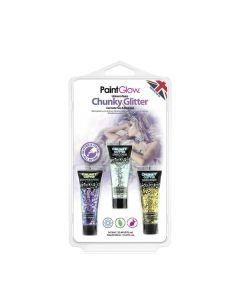 Paintglow Unicorn Tears Chunky Glitter Face & Body Gels 39 Ml