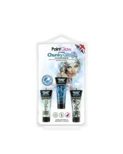 Paintglow Ice Queen Chunky Glitter Face & Body Gels 39 Ml