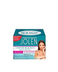 Jolen Creme Bleach Mild Formula Plus Aloe Vera 125 Ml