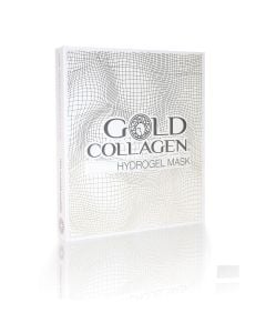 Gold Collagen Hydrogel Maskers 4 Pcs