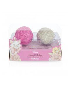 Mad Beauty Disney Marie Wool Ball Lip Balm Duo 2 X 1,5 G