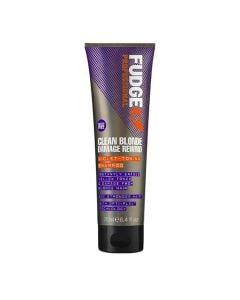Fudge Clean Blonde Damaged Rewind Violet-Toning Shampoo 250Ml