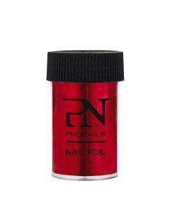 Pronails Nail Foil Red 1.5 M