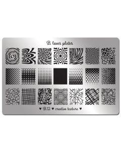 B. Loves Plates Creative Texture