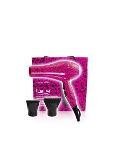 Iso Beauty Föhn 2000W Hot Pink Leopard