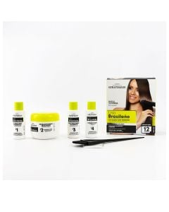 Be Natural Keratimask Brazilian Straightening Kit
