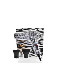 Iso Beauty Föhn 2000W Zebra-Wit