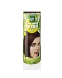 Hennaplus Colour Cream Chocolate Brown 5.35 60 Ml