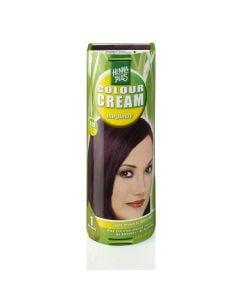 Hennaplus Colour Cream Burgundy 3.67 60 Ml