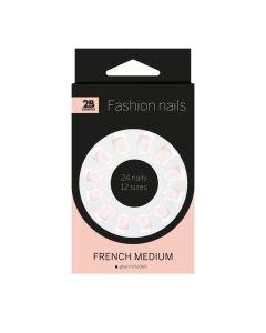 2B Nails French Medium