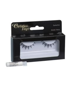 Christian Faye Eyelashes Alexa With Glue