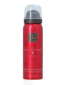Rituals Ayurveda Foaming Shower Gel Indian Rose & Sweet Almond Oil 50 Ml