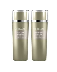 M2 Beauté Oil-Free Eye Make-Up Remover 150 Ml Duo Pack