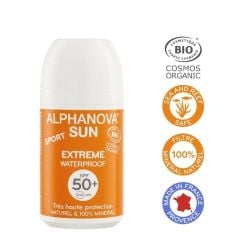 Alphanova Bio Spf 50+ Roll On Sport 50G
