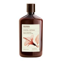 Ahava Mineral Botanic Cream Wash Hibiscus 500Ml
